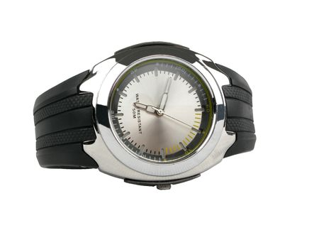 moderm: Moderm watch with stretch black background white