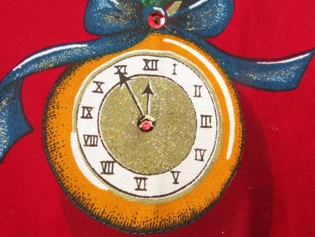 numeros romanos: Justo antes de la medianoche, el fondo antiguo reloj