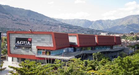 medellin: Colombian city of Medellin in Colombia. parque explora
