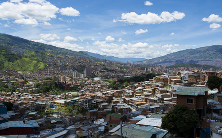 antioquia: Medellin, the second biggest city in Colombia, Department of Antioquia. Stock Photo