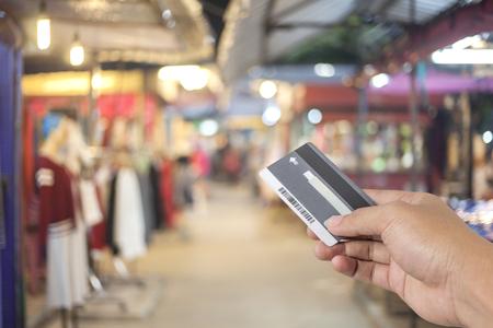 supermarket cash: Credit Card, Shopping