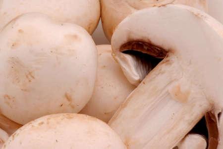 Mushrooms in a bowl