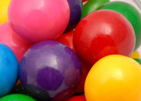 Macro photo of gumballs Imagens