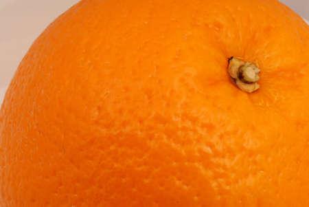 Close up photo of an orange. Stock Photo