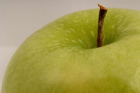 Macro photo of green apple Stock Photo - 639537