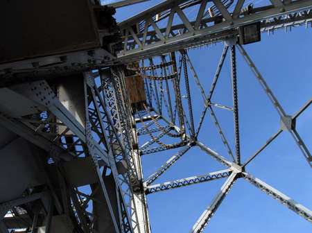 counterweight: Photo of tower from Bridge 21 in Port Colborne, Ontario.