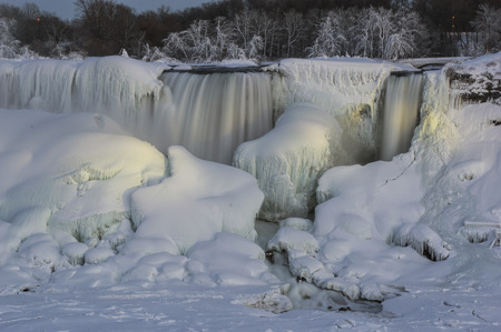 Photo of the American Falls, Niagara Falls, NY.