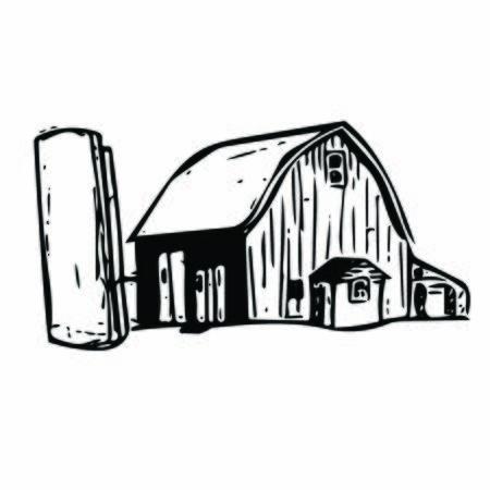 Farm House Sketch