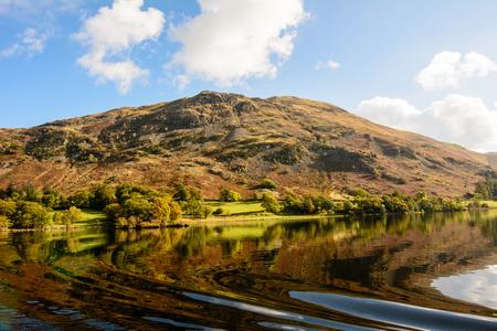 lake district: Ullswater lake in the Lake District Stock Photo