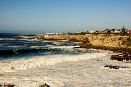 seas: Stormy seas in Hermanus