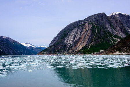 Icy waters on an inside passage cruise