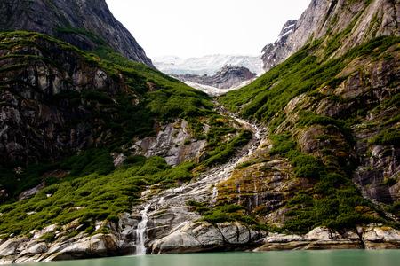 alaska scenic: Scenery on an inside passage cruise Stock Photo