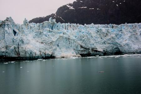 Glacier calving in glacier national park Reklamní fotografie