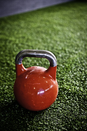 crossfit kettlebell network in a gym