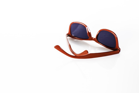 red sunglasses I Stock Photo