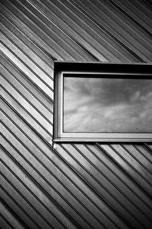 window Silver metal texture background