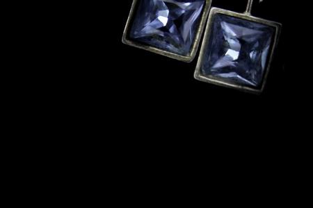 블루 다이아몬드 보석 스톡 콘텐츠