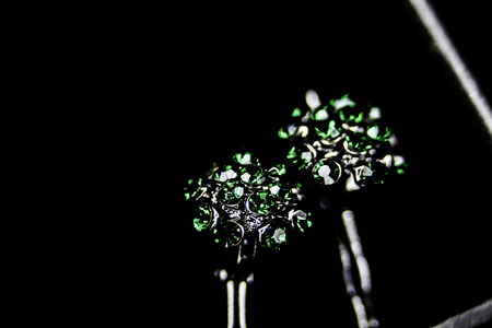 emerald jewel Stock Photo
