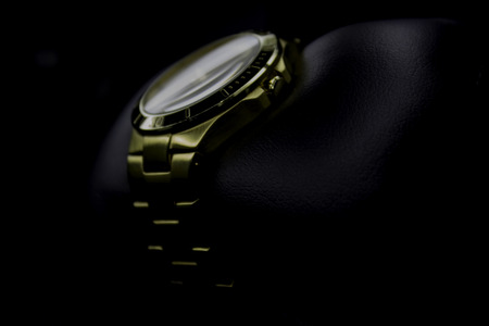 gold watch I