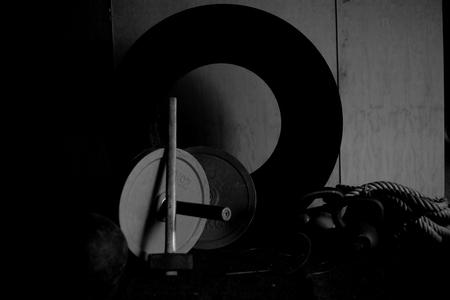 교차점 체육관 장비 VI 스톡 콘텐츠 - 86759178