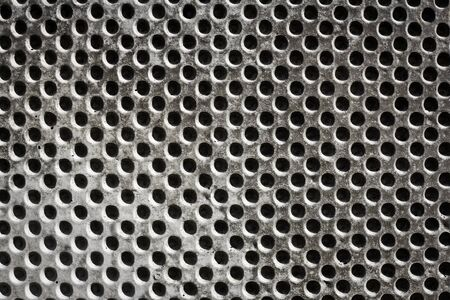 concrete background with holes