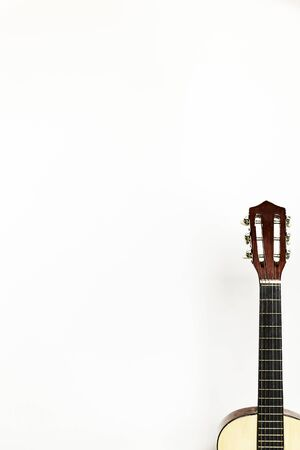 photo of a isolated guitar
