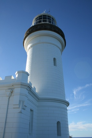 byron: Byron Bay Lighthouse Stock Photo