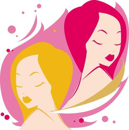 Ilustración de una mujer y gemini