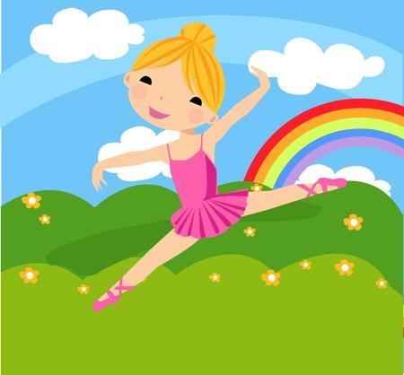 poise: ballet girl