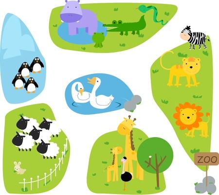 zoologico caricatura: Zool�gico