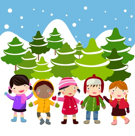 songs: children Illustration