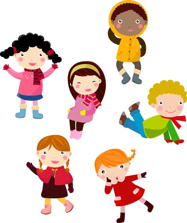 children Stock Vector - 9774563