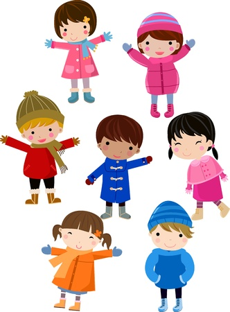 children Stock Vector - 8887641