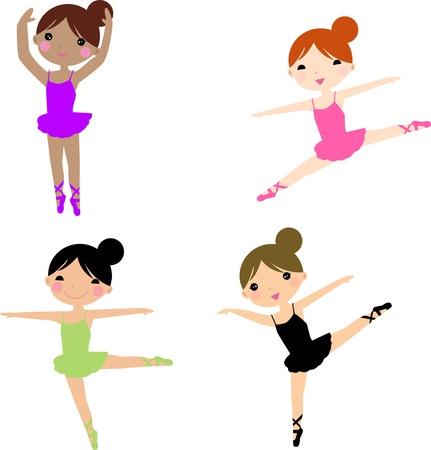 dancing ballerinas
