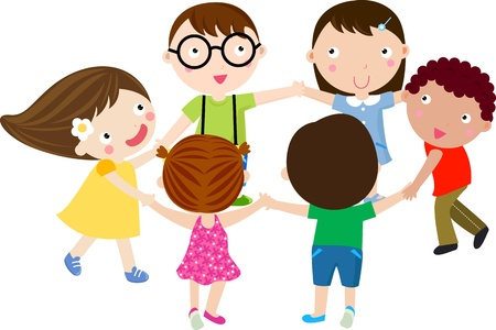 circle of friends: Children in Circle