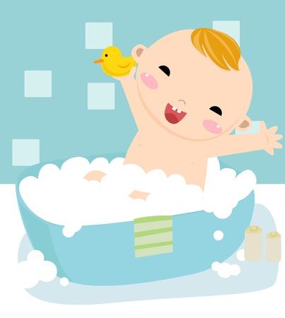 Bubble Bath  Vector