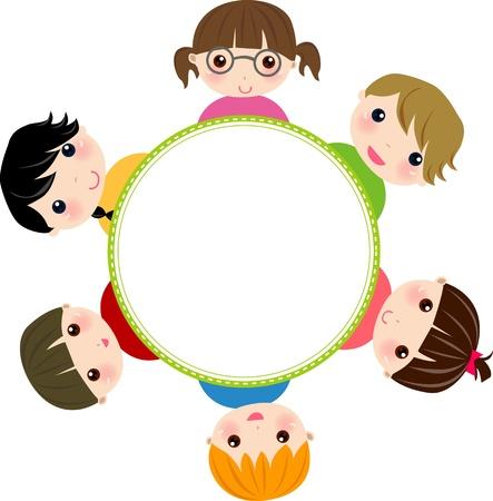 siblings: kids and frame