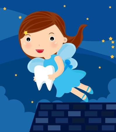cute fairy: teeth fairy