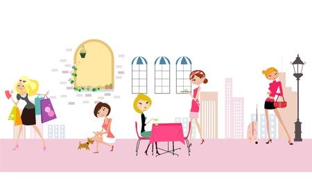 woman life Illustration