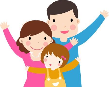 affetto: famiglia Vettoriali