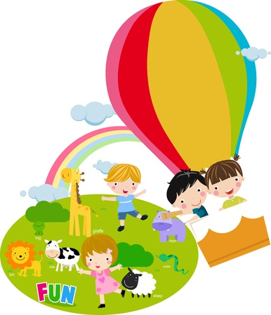 Day at the zoo Stock Vector - 16721450