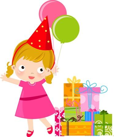 party girl Stock Vector - 16497404
