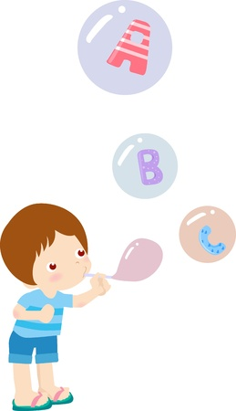 Fun abc  Vector