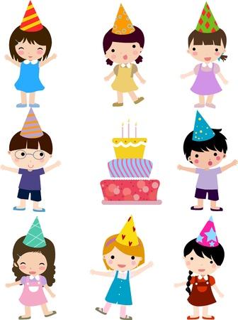 Birthday celebration Stock Vector - 16721476
