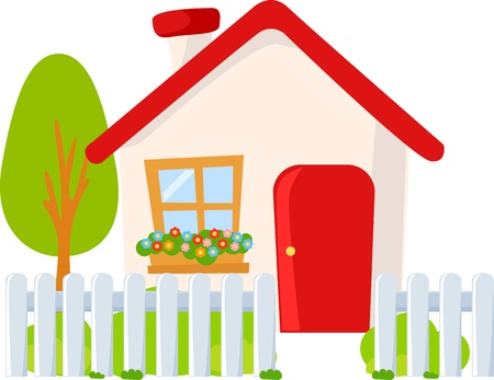 cute house Stock Vector - 14052739