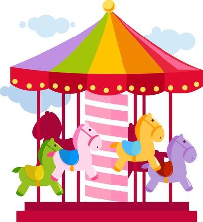 fun fair: Carousel