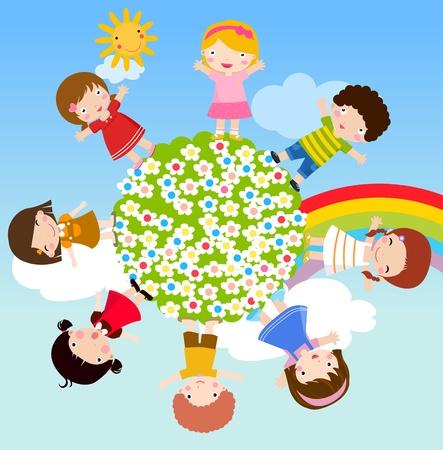 enfants Illustration