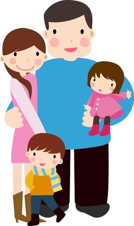 ser padres: Familia Feliz
