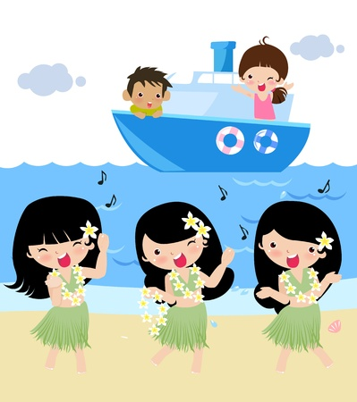 hula: viajes de verano
