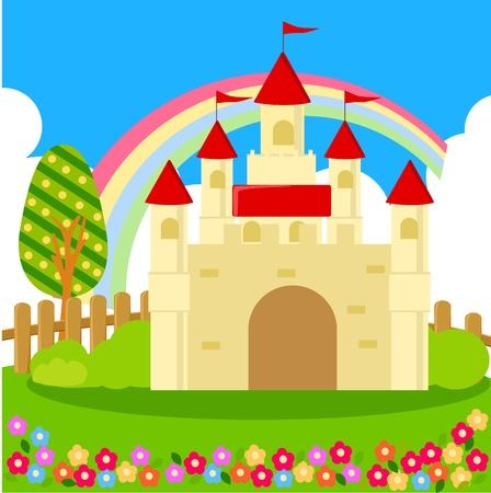 king palace: Castle  Illustration